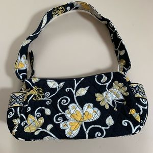 Vera Bradley Yellow Bird pattern shoulder bag